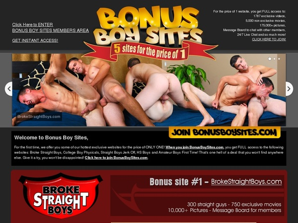 Bonusboysites.com Galleries