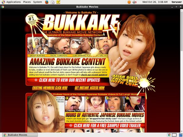 Bukkake.tv Exit Discount