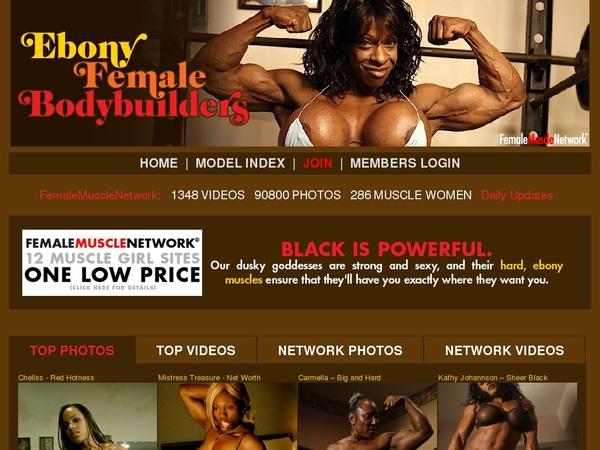 Ebony Female Body Builders サイン アップ