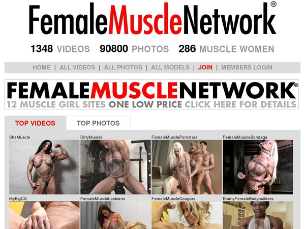 Femalemusclenetwork Password Info
