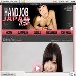 Handjob Japan With Mastercard