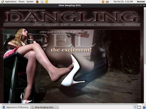 New Free Shoe Dangling Girls Account