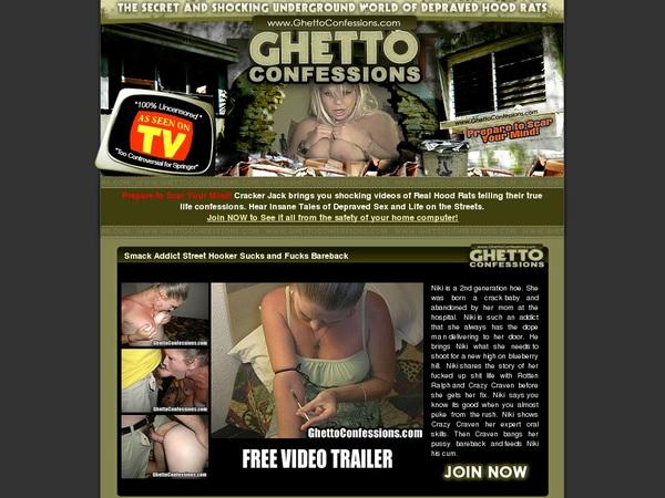 Premium Ghetto Confessions