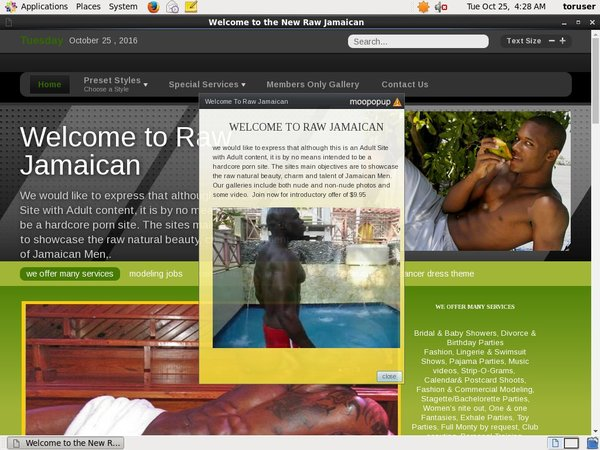 Rawjamaican Payment Page