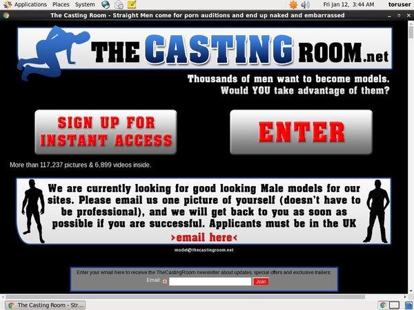 The Casting Room Porn