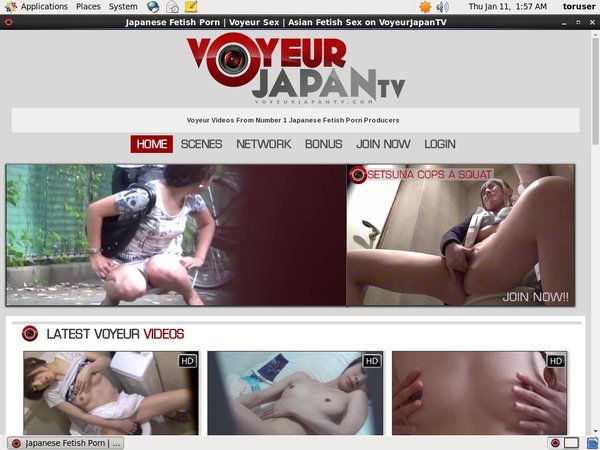 Voyeur Japan TV Shop