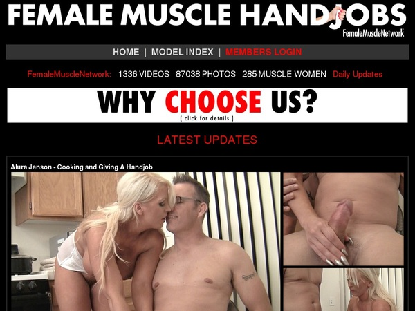 Female Muscle Handjobs Women
