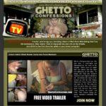 Ghettoconfessions.com Buy Membership
