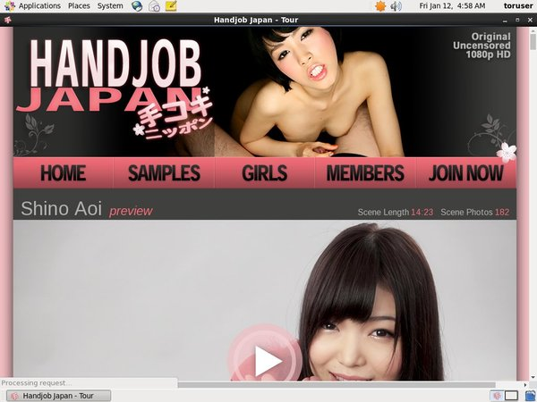 Handjob Japan Account Generator