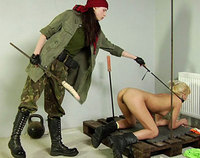 Lesbian Army lesdom