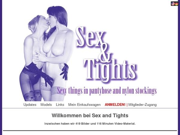 Sexandtights Crear Cuenta