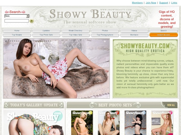 Showy Beauty With Directpay