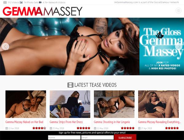 Im Gemma Massey Join Page