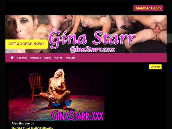 Gina Starr Accounts
