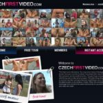 Gratis Czech First Video
