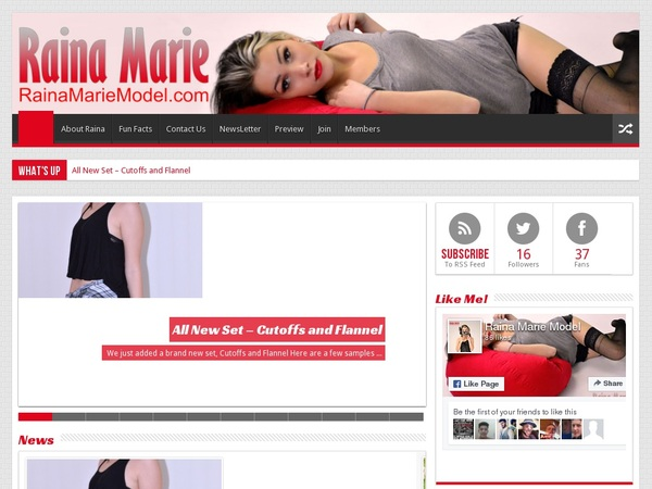 Free Rainamariemodel.com Porn