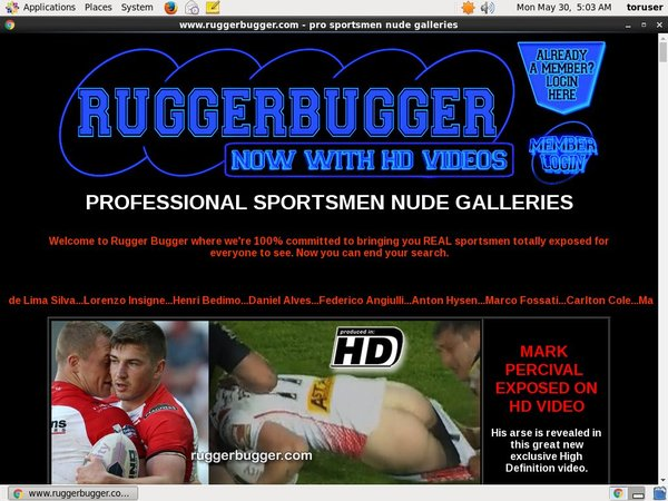 Ruggerbugger.com Account Generator