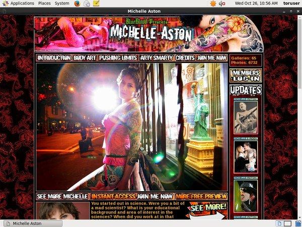 Michelle-aston.com Account And Password