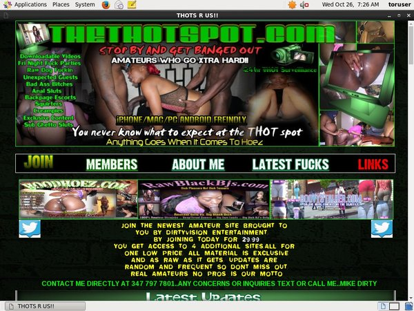 Thethotspot Lower Price
