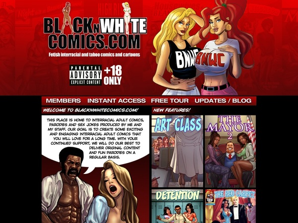 Black N White Comics Accs