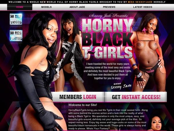 Horny Black TGirls Create Account