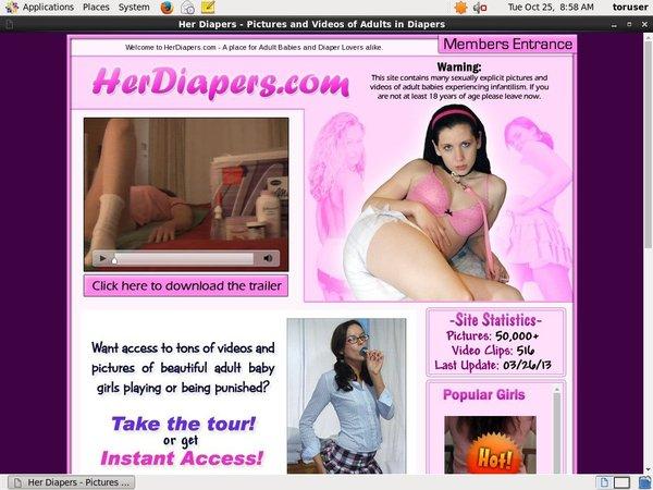 Herdiapers Girl