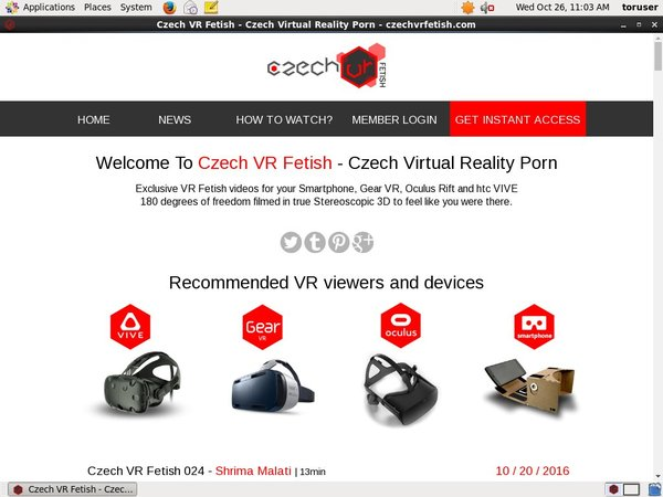 Czech VR Fetish Without Credit Card