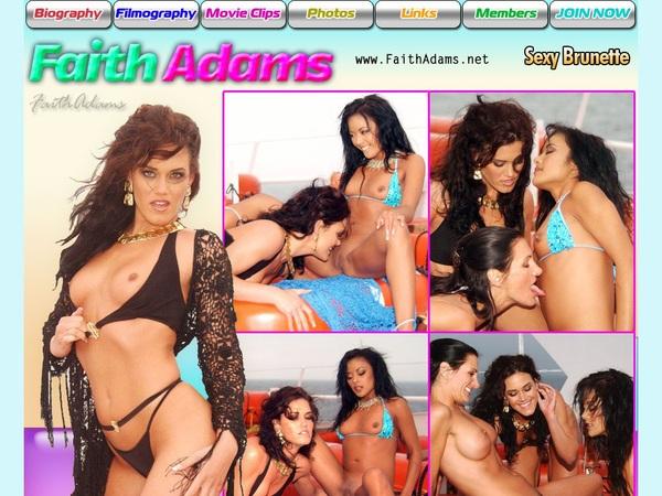 Faith Adams Lifetime Membership