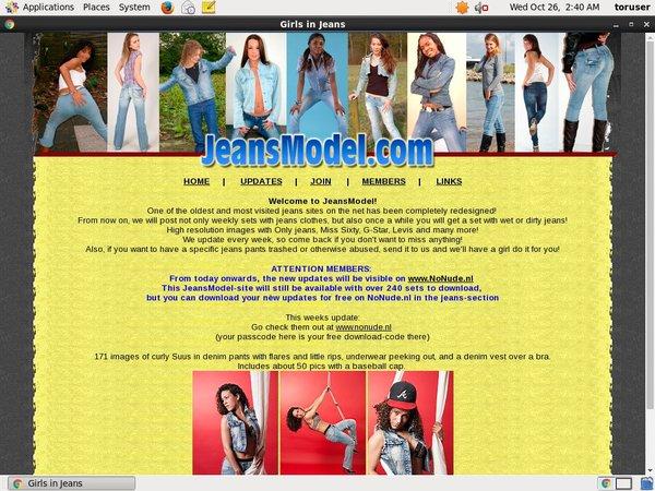 Free Jeans Model Code