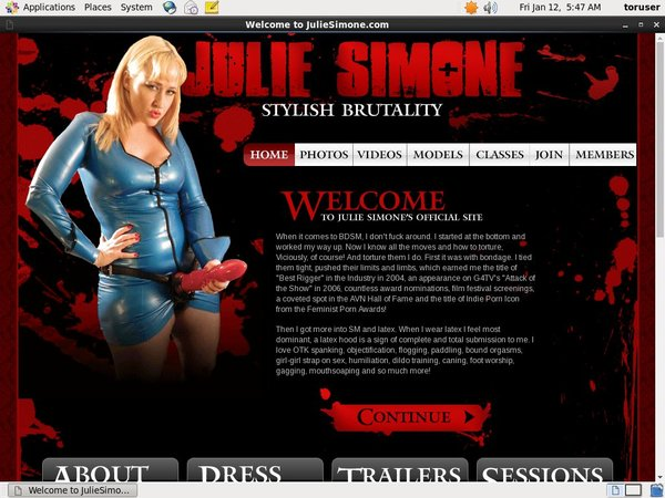 Julie Simone Freeones