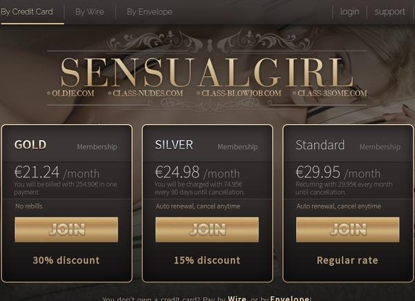 Sensual Girl Premium Account