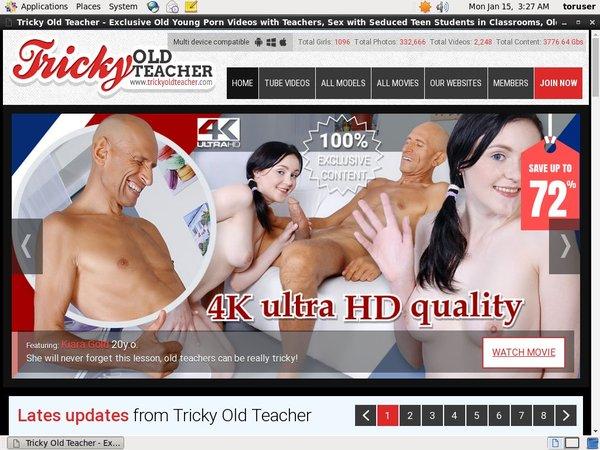 User Tricky Old Teacher