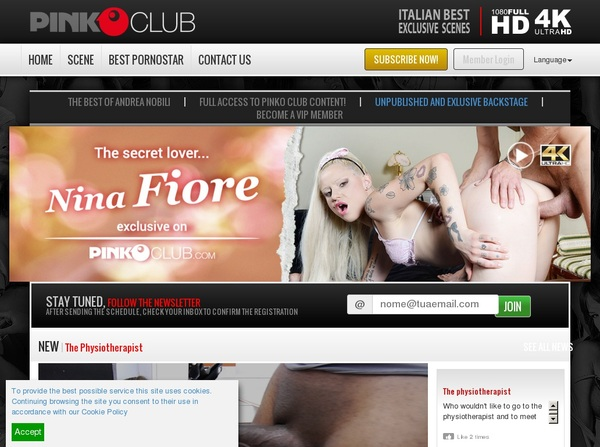 Free Account Premium PinkO Club