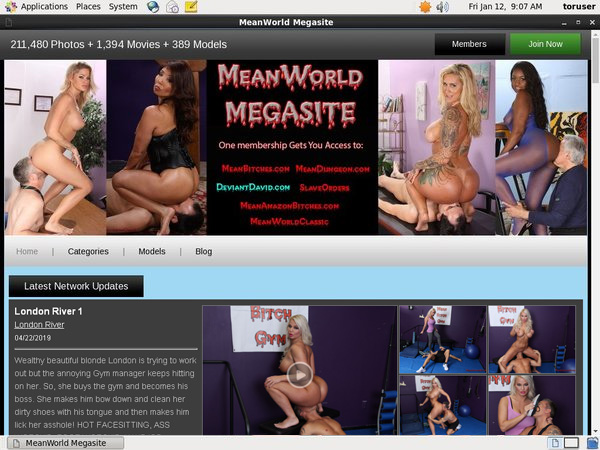 Free Mean World Accounts