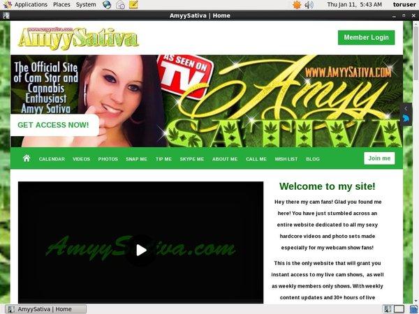 FreeAmyy Sativa Password