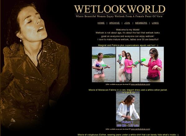Free Wet Look World Video