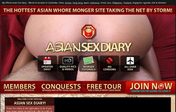 Asian Sex Diary 신용 카드