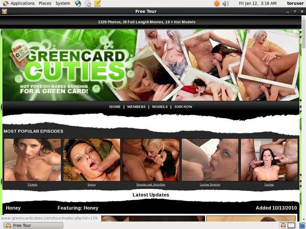 Greencardcuties.com Porn Pass