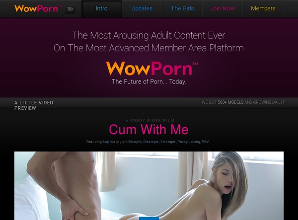 Wow Porn Working Account