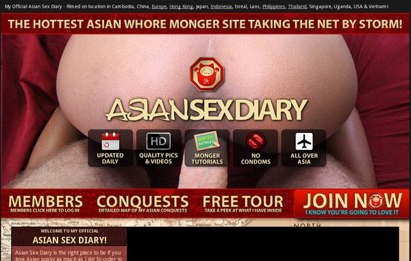 Become Asiansexdiary.com Member