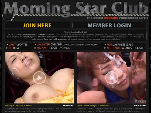 Morning Star Club Full Account